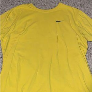 Yellow Nike T-Shirt